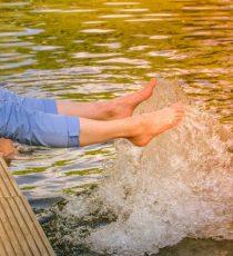 Bagnare i piedi